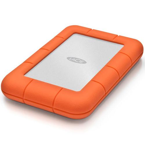 LaCie Rugged Mini USB 3.0 External Hard Drive - 2TB