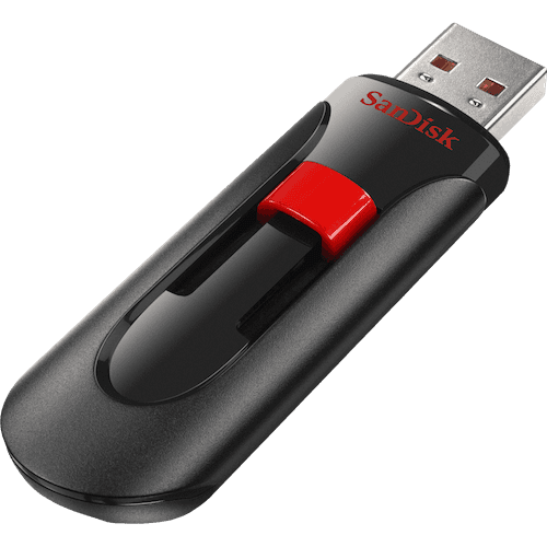 SanDisk Cruzer Glide USB 2.0 Flash Drive - 64gb