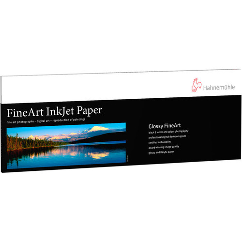 """Hahnemuhle Photo Rag Baryta Paper- 2A4, 8.27 x 23.38"""", 25 Sheets"""