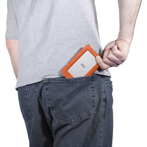 e6d7f993b866 LaCie 4TB Rugged Mini Portable Hard Drive