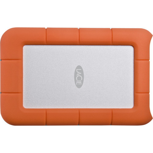 LaCie Rugged Mini USB 3.0 External Hard Drive - 4TB