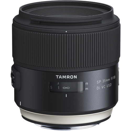 Tamron AF 35mm f/1.8 SP Di VC USD Lens for Canon
