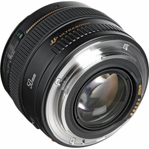 Canon EF 50mm f/1 4 USM Lens