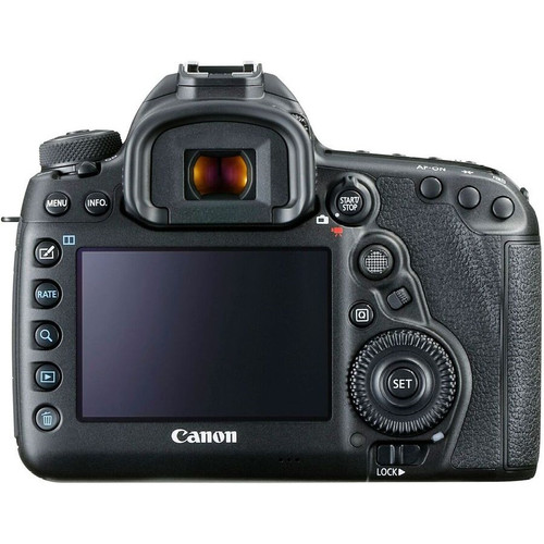 Canon EOS 5D Mark IV Camera- Body Only Back View