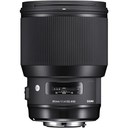 Sigma 85mm f/1.4 DG HSM Art Lens - Canon EF Mount