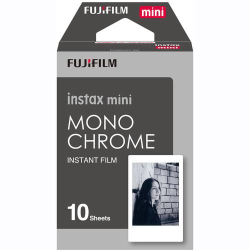 Fujifilm Instax Mini Monochrome Instant Film- 10 Exposures