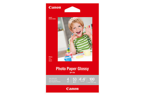 """Canon Photo Paper Glossy 4x6"""" - 100 Sheets"""