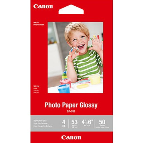 """Canon Photo Paper Glossy 4x6"""" - 50 Sheets"""