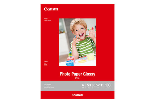 "Canon Photo Paper Glossy 8.5x11"" - 100 Sheets"