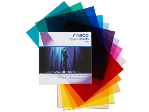 """Rosco Cinegel Color Effects Filter Kit- 12 x 12"""""""