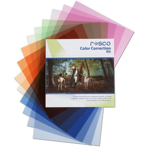 "Rosco Cinegel Color Correction Filter Kit- 12 x 12"""