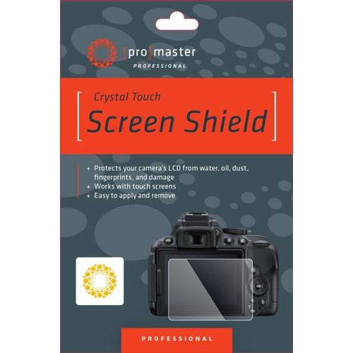 ProMaster Crystal Touch Screen Shield LCD Protector- Nikon D500