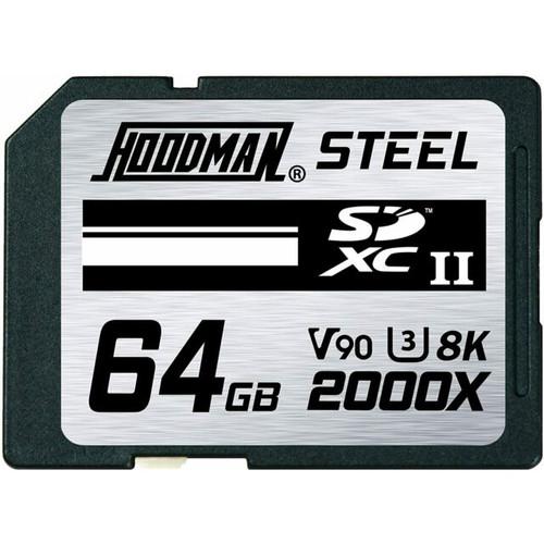 Hoodman Steel 2000x SDXC UHS-II Memory Card - 64GB