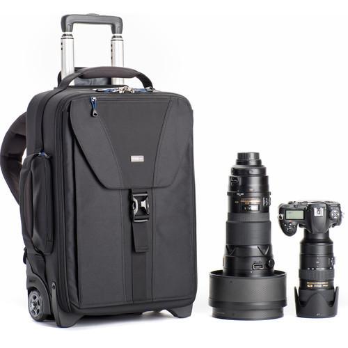 Think Tank Photo Airport TakeOff V2.0 Rolling Camera Bag- Black