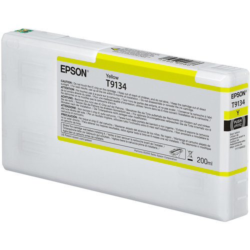 Epson T913 UltraChrome HDX Ink Cartridge 200mL- Yellow