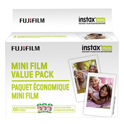 Fujifilm Instax Mini Instant Film- 60 Exposures