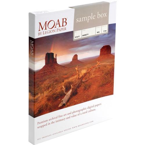 "Moab General Sampler- 8.5 x 11"""