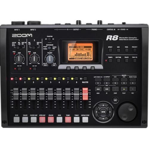 Zoom R8 8-Track Digital Recorder/Interface/Controller/Sampler *Special Order Item*