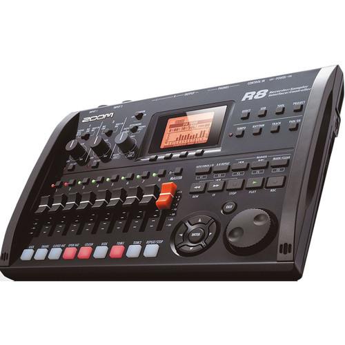 Zoom R8 8-Track Digital Recorder/Interface/Controller/Sampler *Special Order Only*