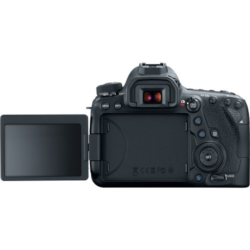 Canon EOS 6D Mark II DSLR Camera with 24-105mm L Lens