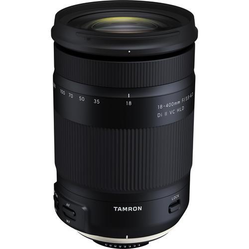 Tamron 18-400mm f/3.5-6.3 Di II VC HLD Lens - Canon EF Mount