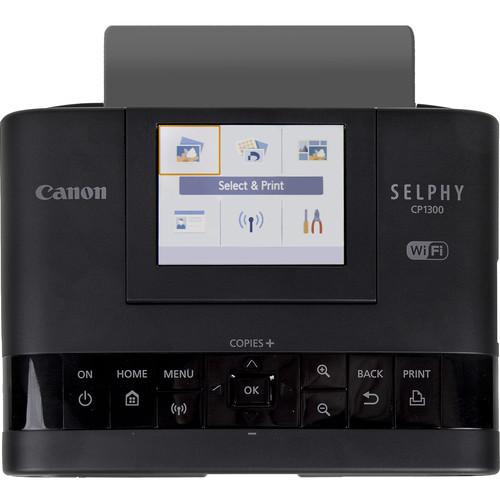 Canon SELPHY CP1300 Compact Photo Printer- Black