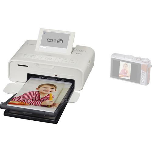 Canon SELPHY CP1300 Compact Photo Printer- White