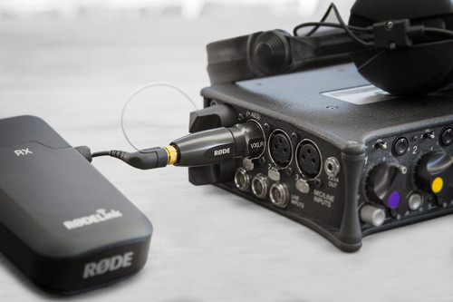 Rode VXLR Plus - 3.5mm to XLR Adapter with Power Converter