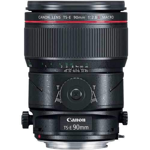 Canon TS-E 90mm f/2.8L Macro Tilt-Shift Lens *Special Order Item*