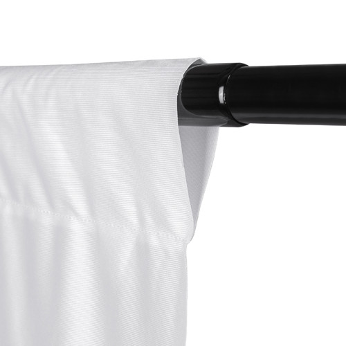 Promaster Wrinkle Resistant Backdrop 10'x12'- White