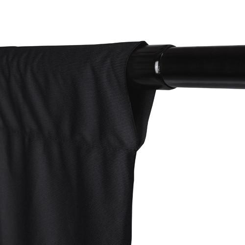 Promaster Wrinkle Resistant Backdrop 10'x20'- Black