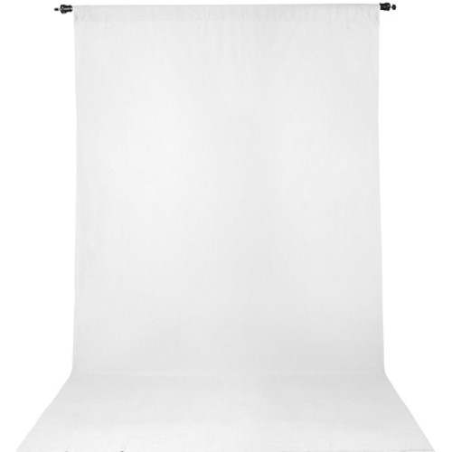 Promaster Wrinkle Resistant Backdrop 10'x20'- White