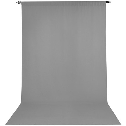Promaster Wrinkle Resistant Backdrop 10'x20'- Grey