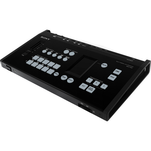 Sony MCX-500 4-Input Global Production Streaming/Recording Switcher