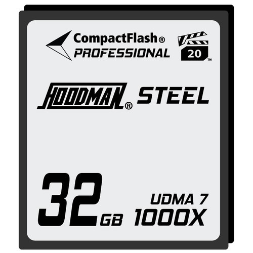 Hoodman Steel 1000x Compact Flash Memory Card- 32gb