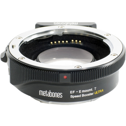 Metabones T Speed Booster Ultra II 0.71 Adapter - Canon EF Mount to Sony E Mount
