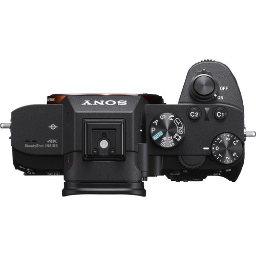 Sony a7 III Body Only Full Frame MIrrorless Camera- Top