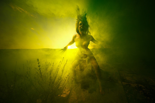 Creative Portraiture: Using Water, Smoke and Color