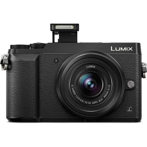 Panasonic Lumix DMC-GX85 Mirrorless Camera with 12-32mm and 45-150mm Lenses