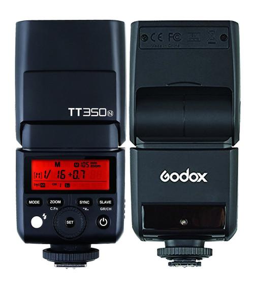 Godox TT350N Mini Thinklite TTL Flash - Nikon
