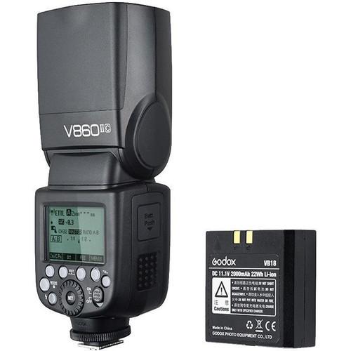 Godox VING V860IIC TTL Li-Ion Flash Kit- Canon