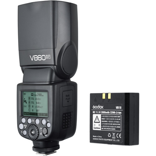 Godox VING V860IIO TTL Li-Ion Flash Kit- Olympus/Panasonic