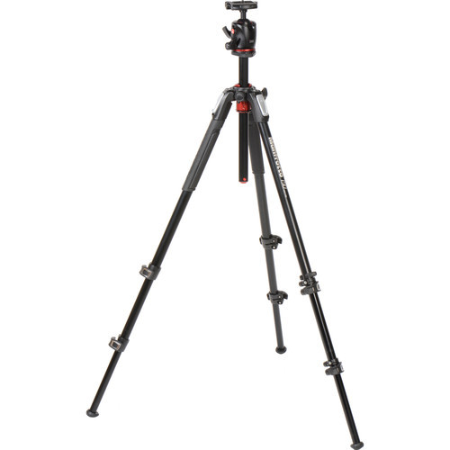 Manfrotto MK190XPRO3-BHQ2 Aluminum Tripod with XPRO Ball Head