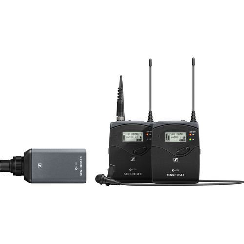 Sennheiser ew 100 ENG G4 Wireless Microphone Combo System A1: (470 to 516 MHz)
