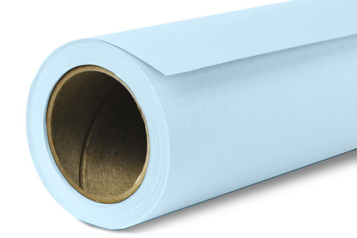 Savage Widetone Background Paper 107 Inch x 12 Yard Roll- #41 Blue Mist