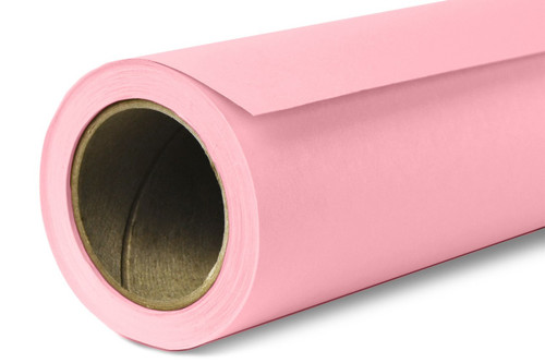 Savage Widetone Background Paper 107 Inch x 12 Yard Roll - #03 Coral