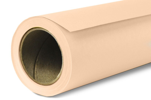 Savage Widetone Background Paper 107 Inch x 12 Yard Roll- #19 Egg Nog