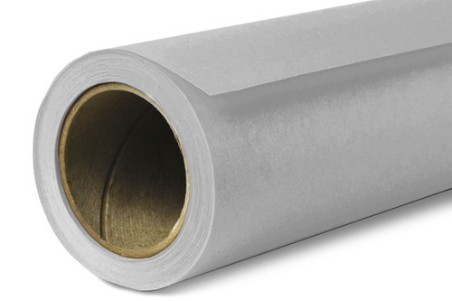 Savage Widetone Background Paper 107 Inch x 12 Yard Roll- #60 Focus Gray