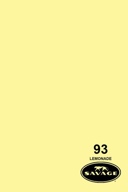 Savage Widetone Background Paper 107 Inch x 12 Yard Roll- #93 Lemonade