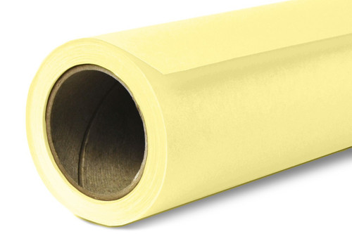 Savage Widetone Background Paper 107 Inch x 12 Yard Roll - #93 Lemonade